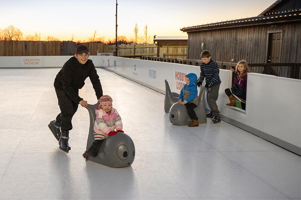 Glice Skating Rink