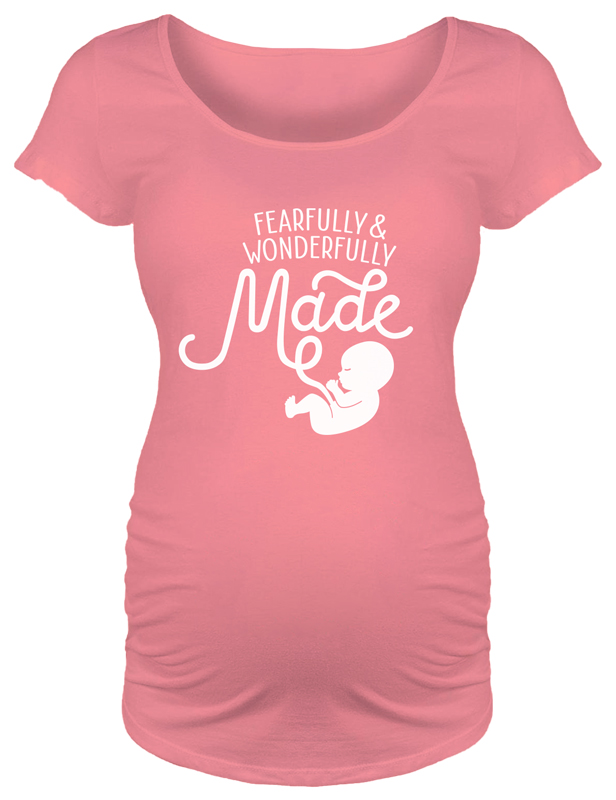Fearfully & Wonderfully Made Maternity T-Shirt