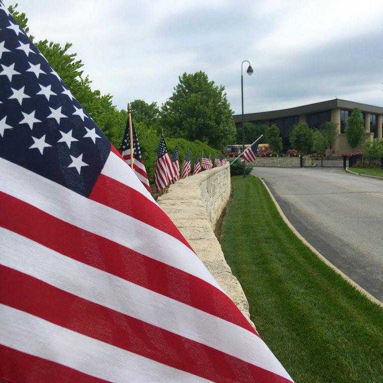 Flags at the Creation Museum