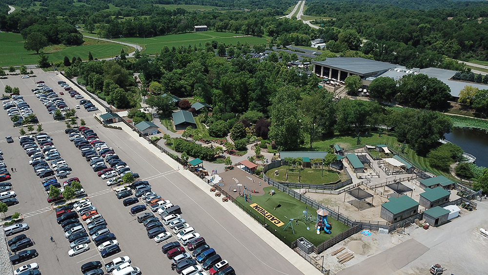 Creation Museum Parking Lot