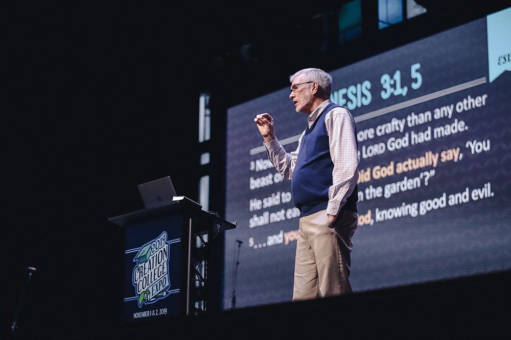 Ken Ham Speaking at Creation College Expo