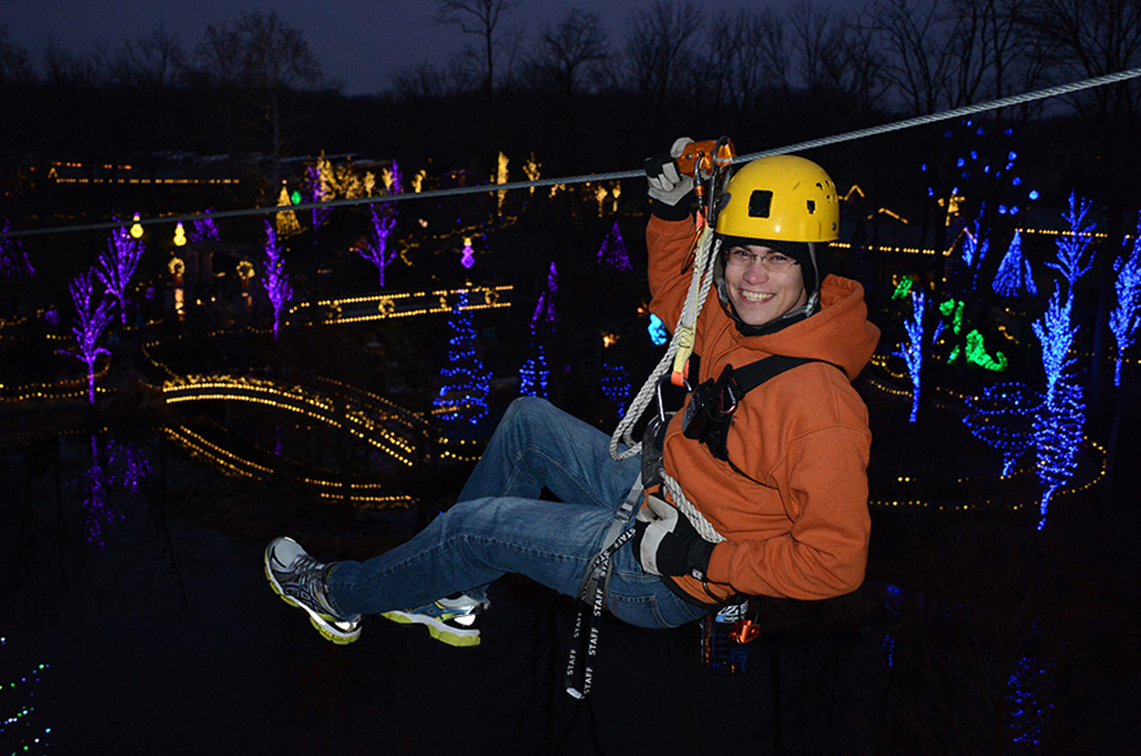 ChristmasTown Zip Line
