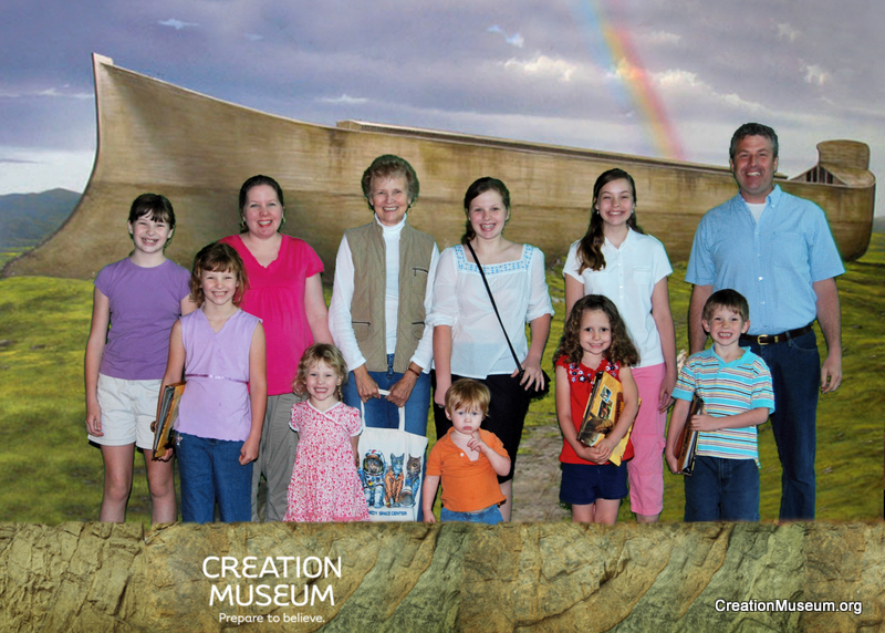 The Hunt Family Visits the Creation Museum