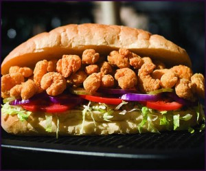 New Orleans To Go Shrimp Po Boy