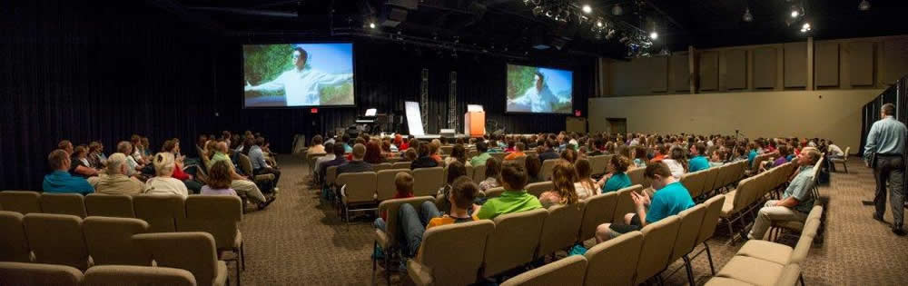 Reliant Youth Conference in Legacy Hall