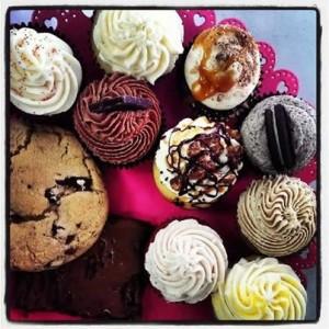 Sugar Snap cupcakes