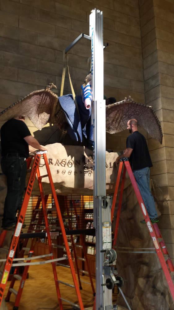 Repairing the Pterodactyl