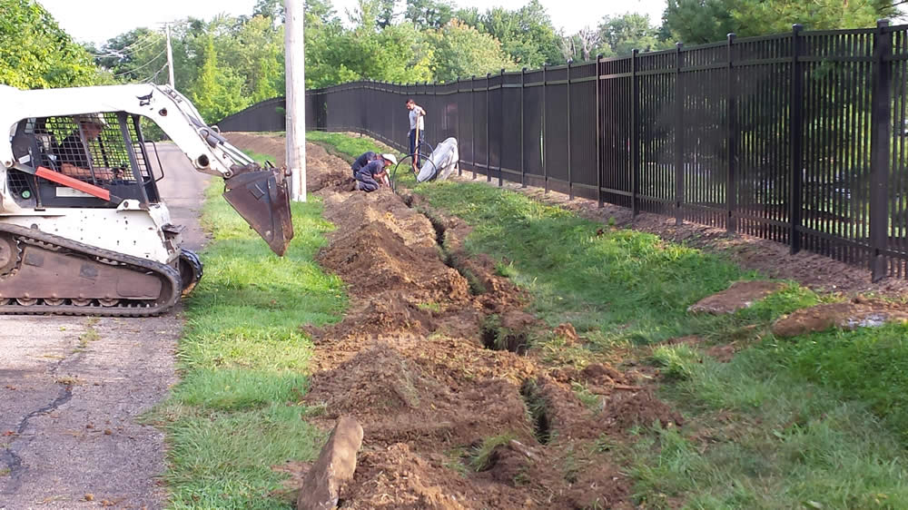 Deck Lane water line