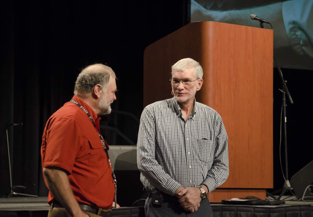 Buddy Davis and Ken Ham