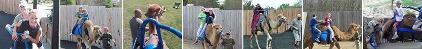Camel Ride Photo Strip