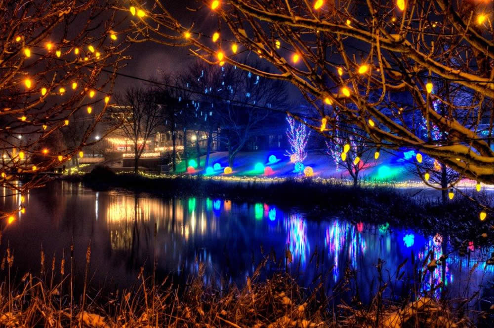 Christmas Town Garden of Lights