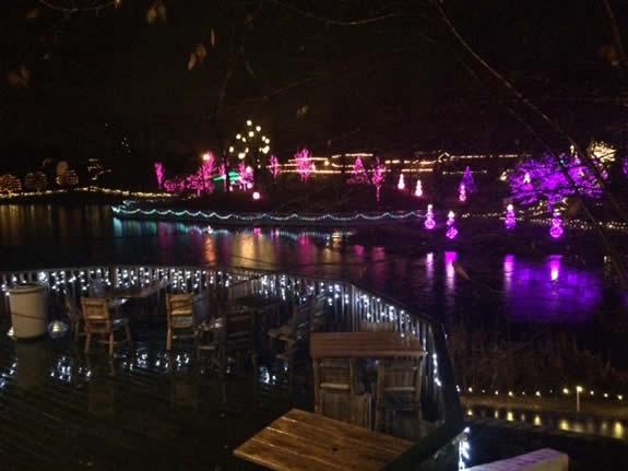 Christmas Town Garden of Lights
