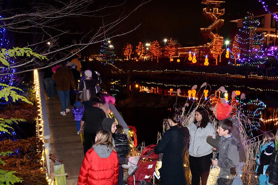 Christmas Town Bridge