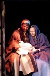 Christmas Town Live Nativity 2013
