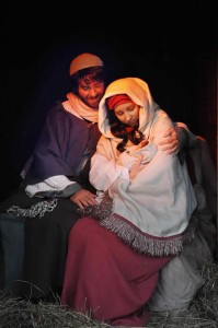 Christmas Town Live Nativity 2014