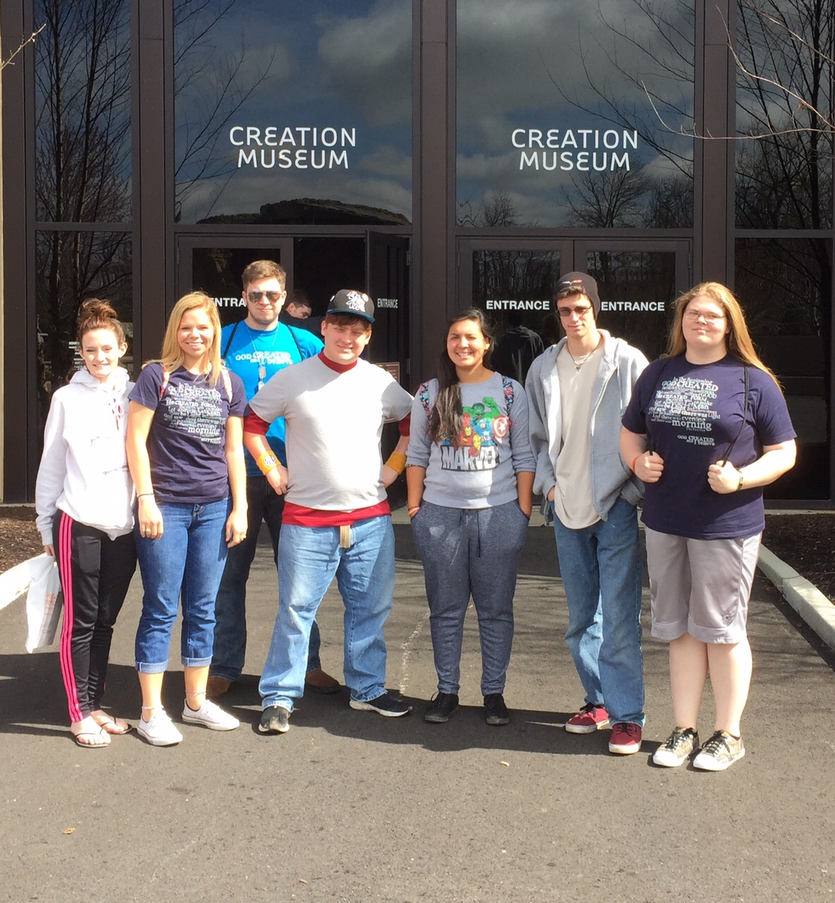 Spring Break at the Creation Museum