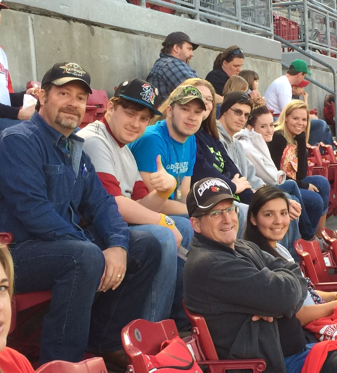 Spring Break at Reds Game