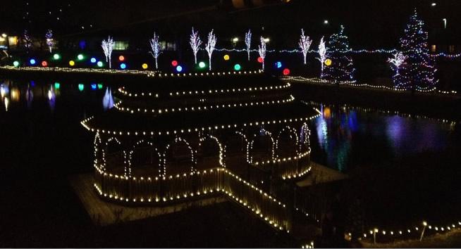 Christmas Town Lights