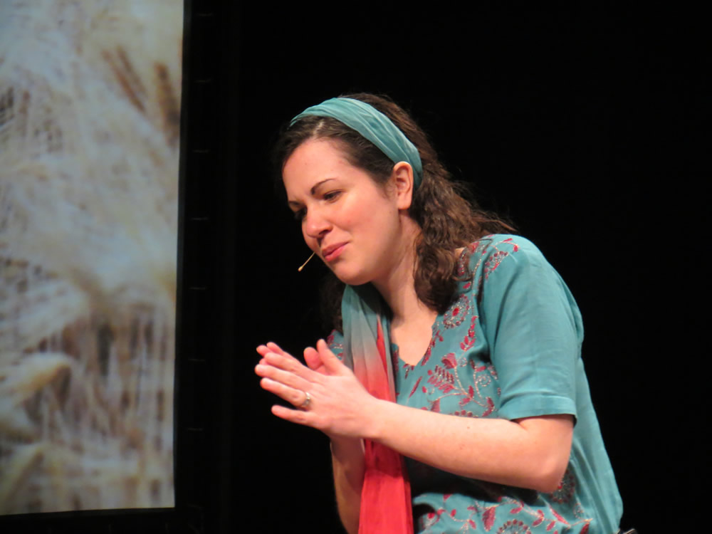 Kristin Curby Performing Ruth