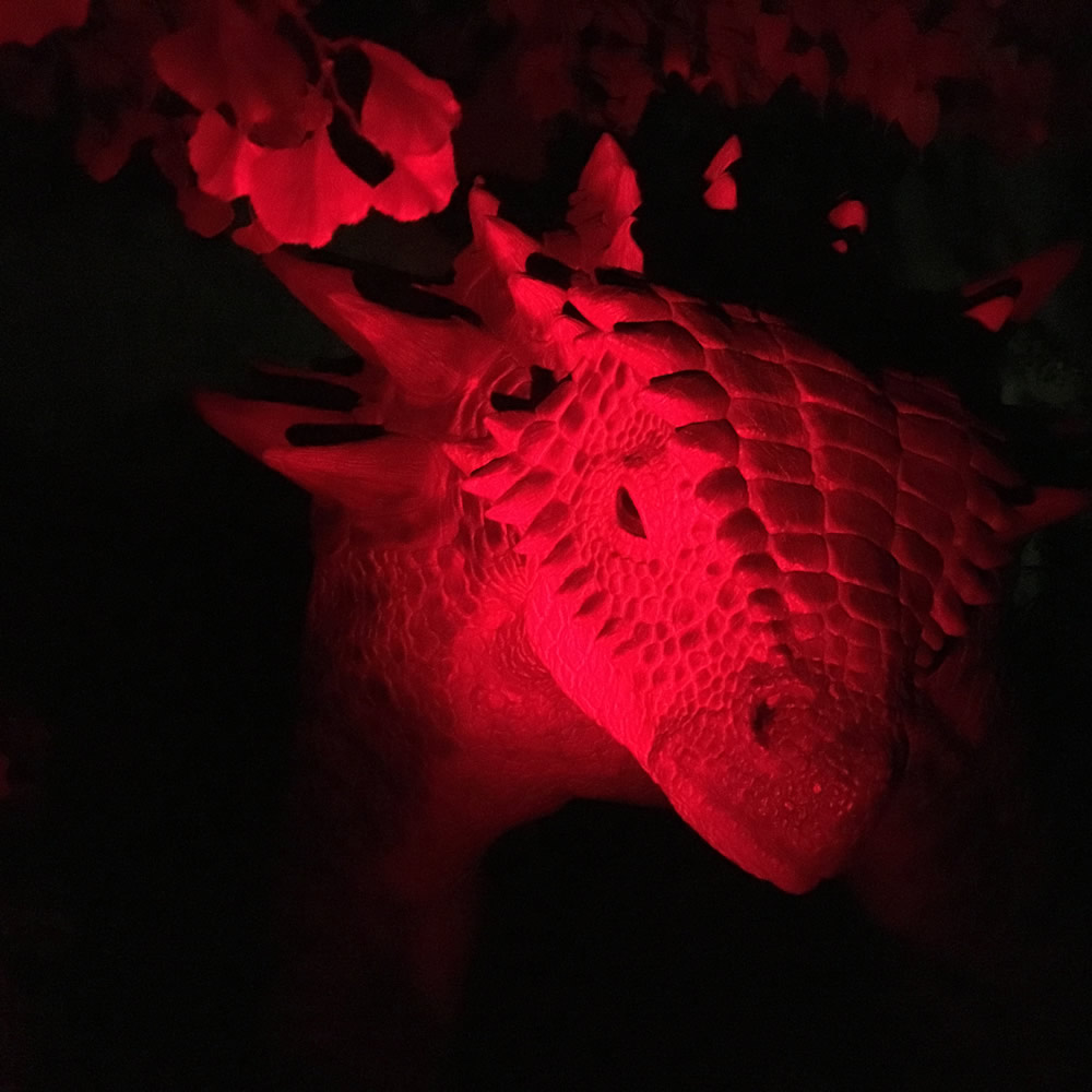 Dinosaur in Red