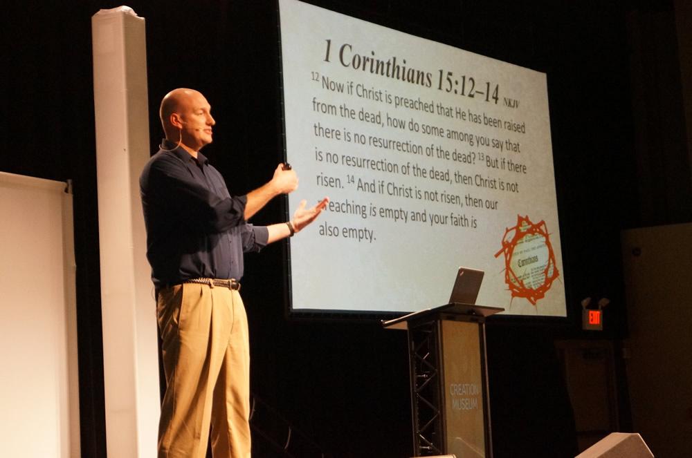 Tim Chaffey Speaking on the Resurrection of Jesus