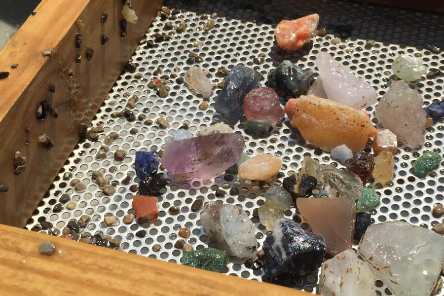 Gems from Sluice