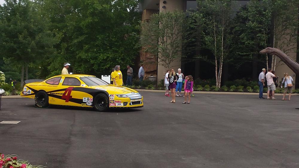 NASCAR Replica at Creation Museum