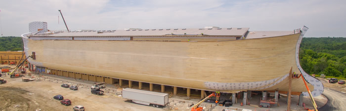 Ark Encounter Construction
