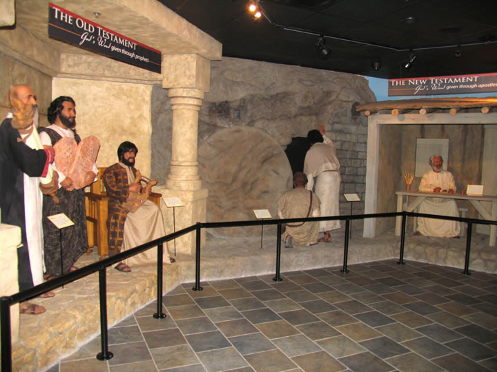 Creation Museum Bible Exhibit
