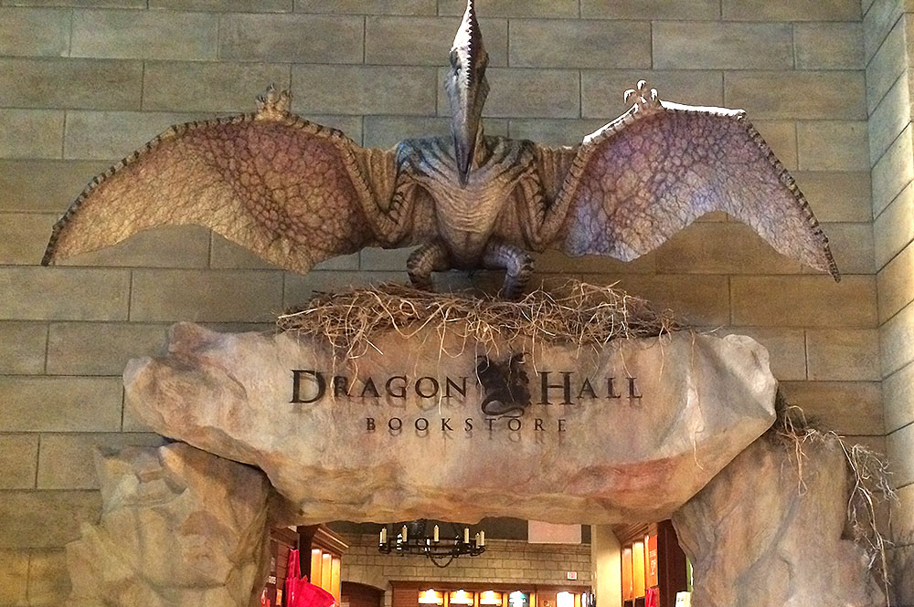 Dragon Hall Entrance