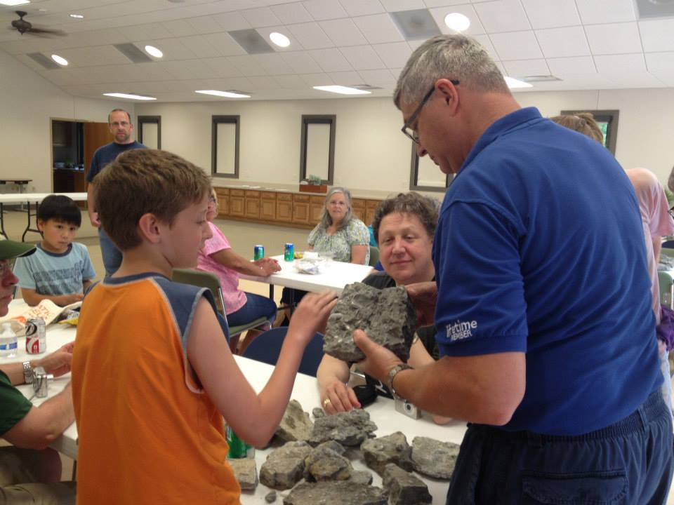 Fossil Hunt with Dr. Snelling