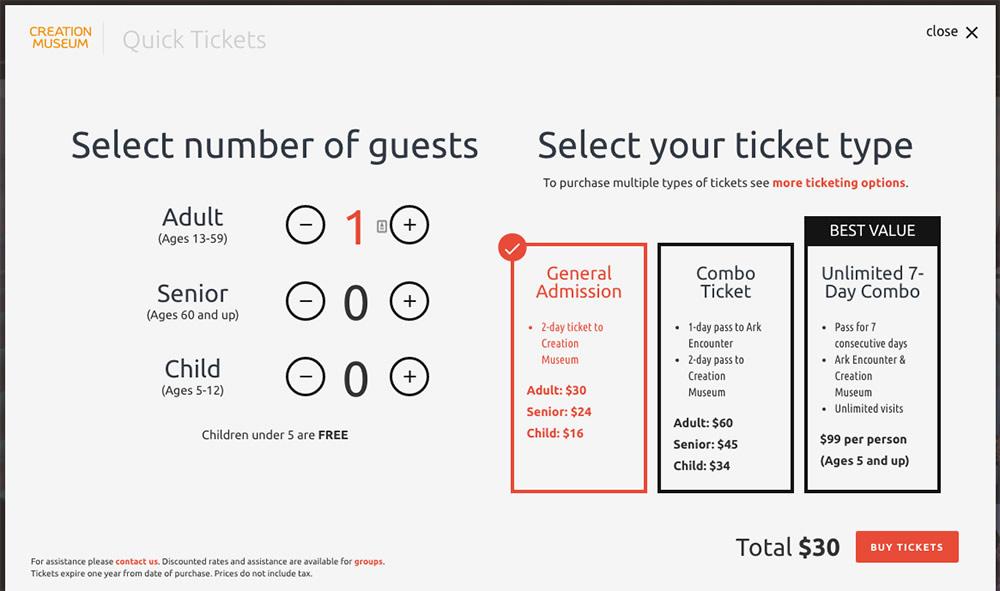 Quick Tickets