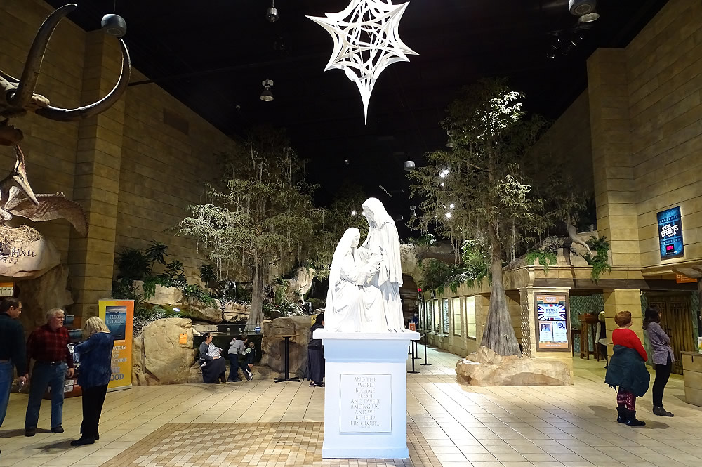 Nativity Statue in Main Lobby