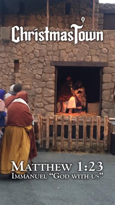 Nativity Scene Filter