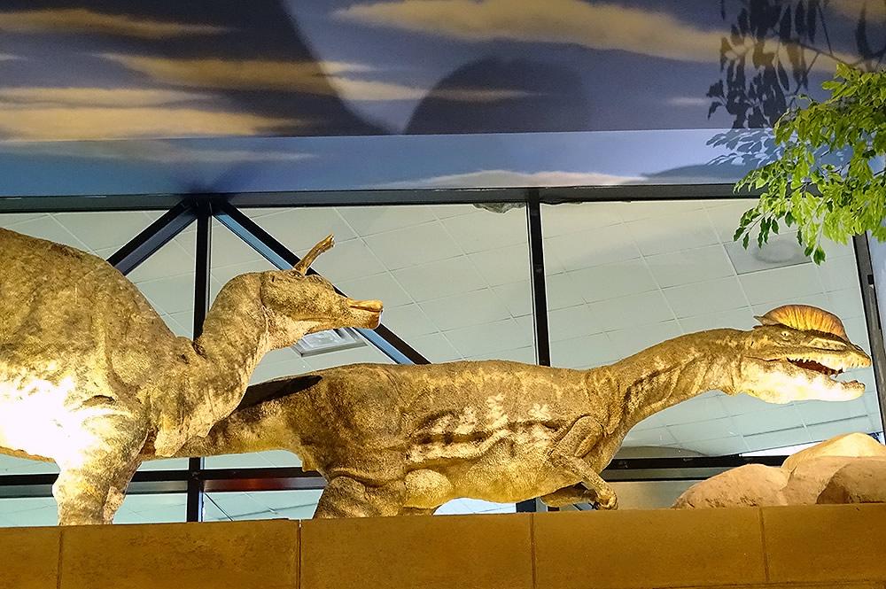 Two Lobby Dinos