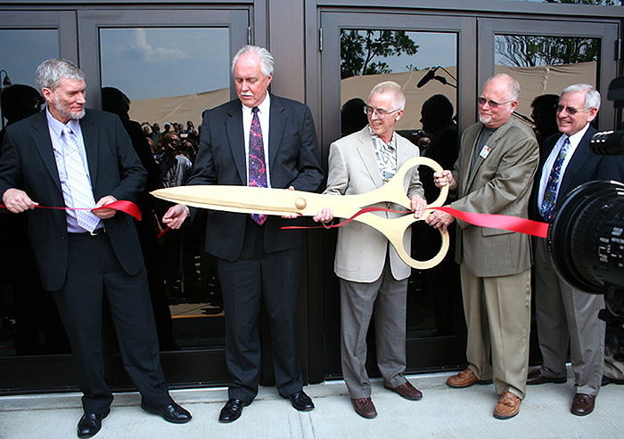 Museum Ribbon Cutting