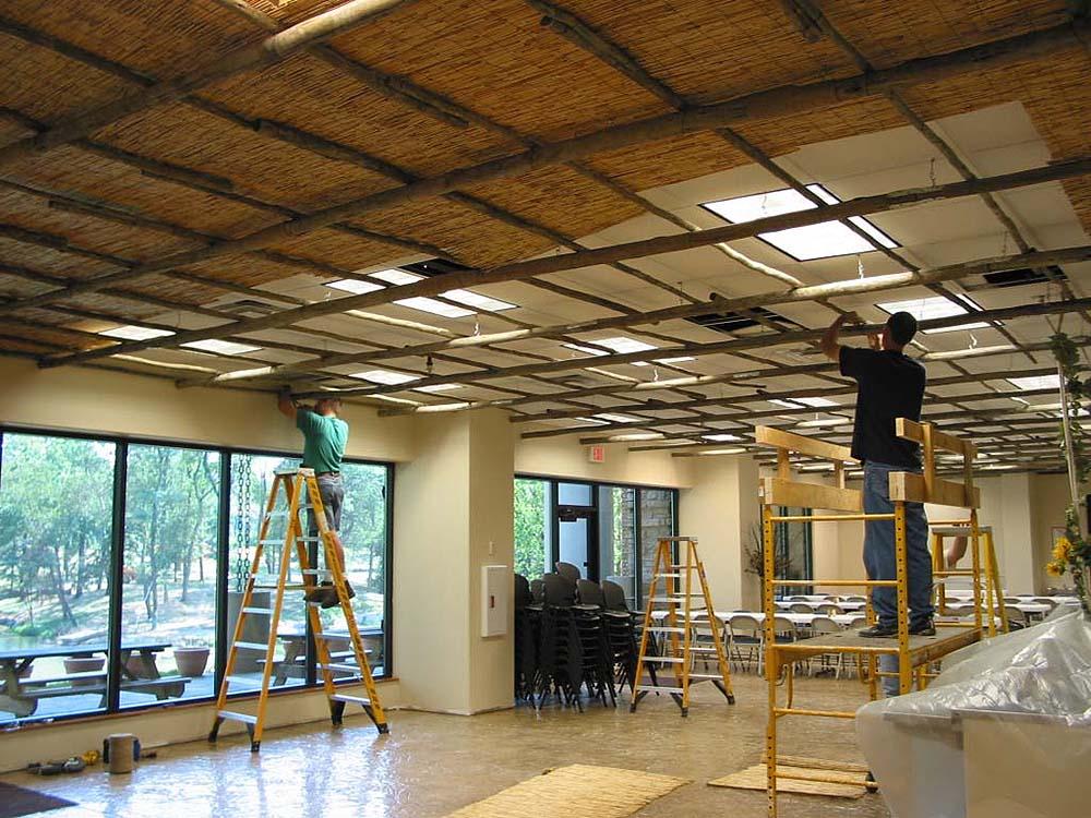 Noah's Cafe During Construction