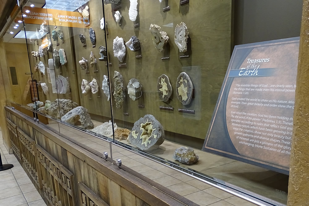 Rock Samples at the Creation Museum