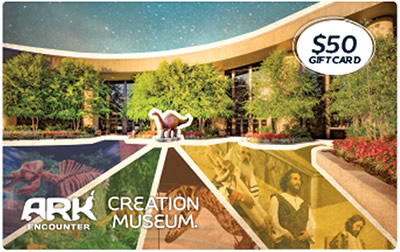 Creation Museum Gift Card