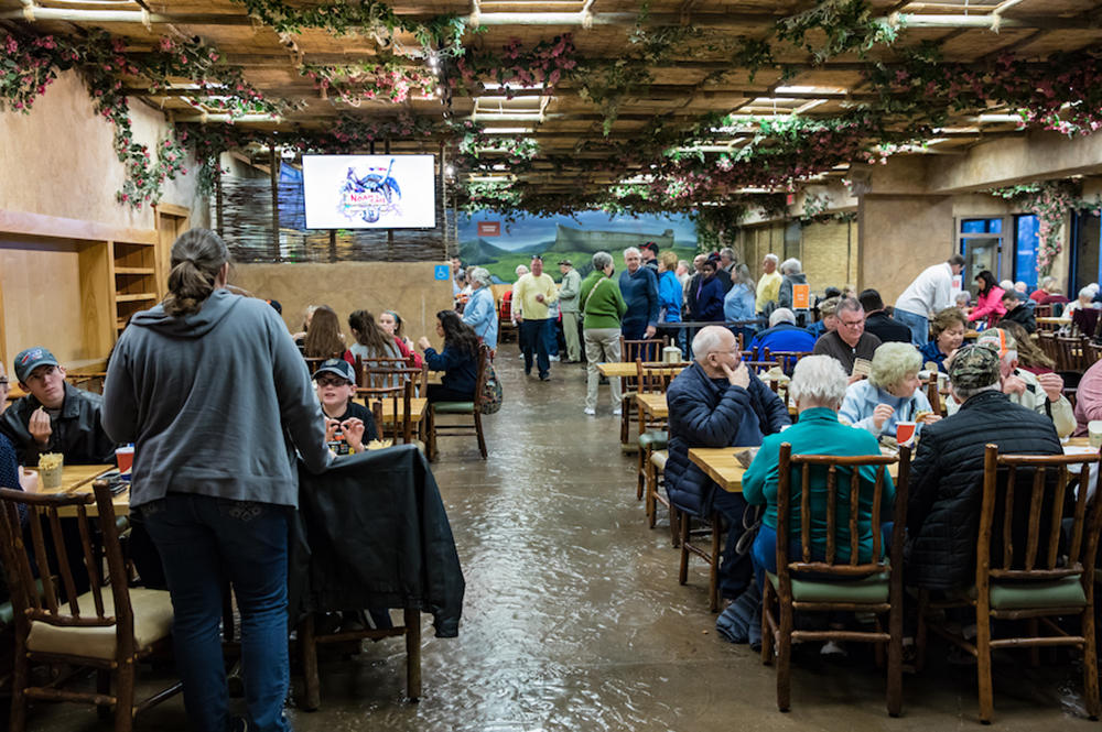 Guests Eating Inside Noah's Café
