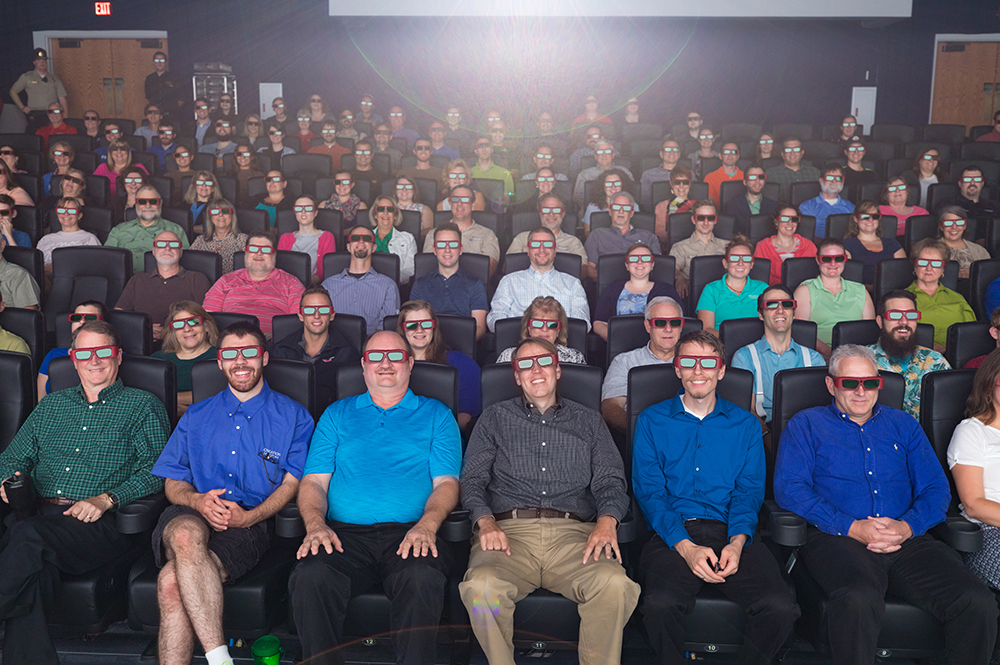 Guests in 3D Glasses