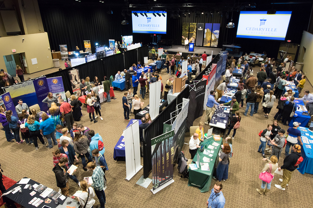 Creation College Expo Aerial View