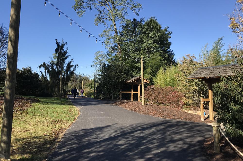 Widened Garden Trail