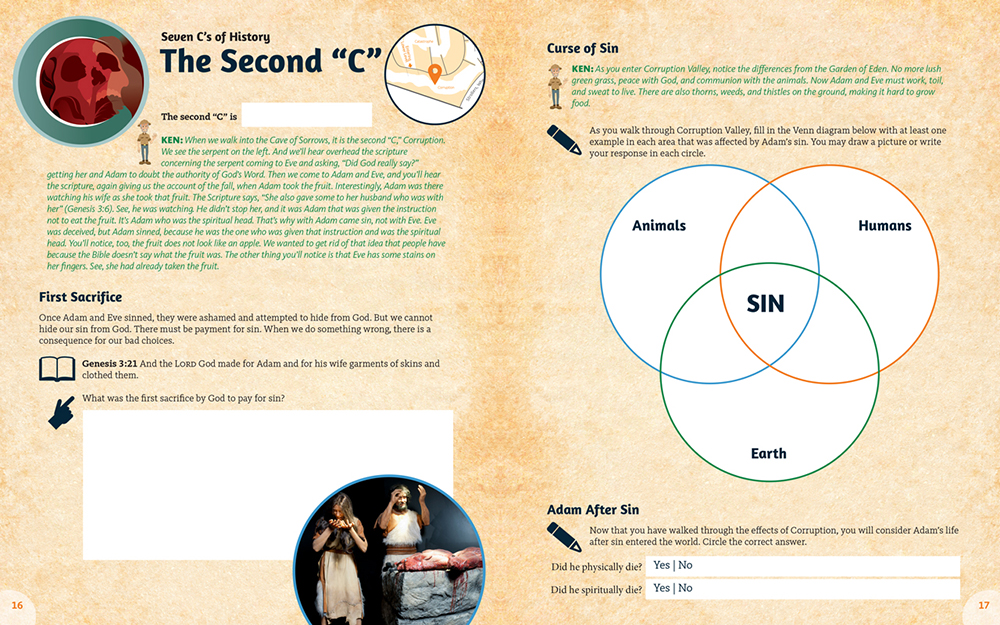 Creation Museum Educational Guides Inside Look