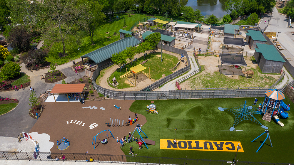 Eden Animal Experience and the Children's Adventure Area at the Creation Museum