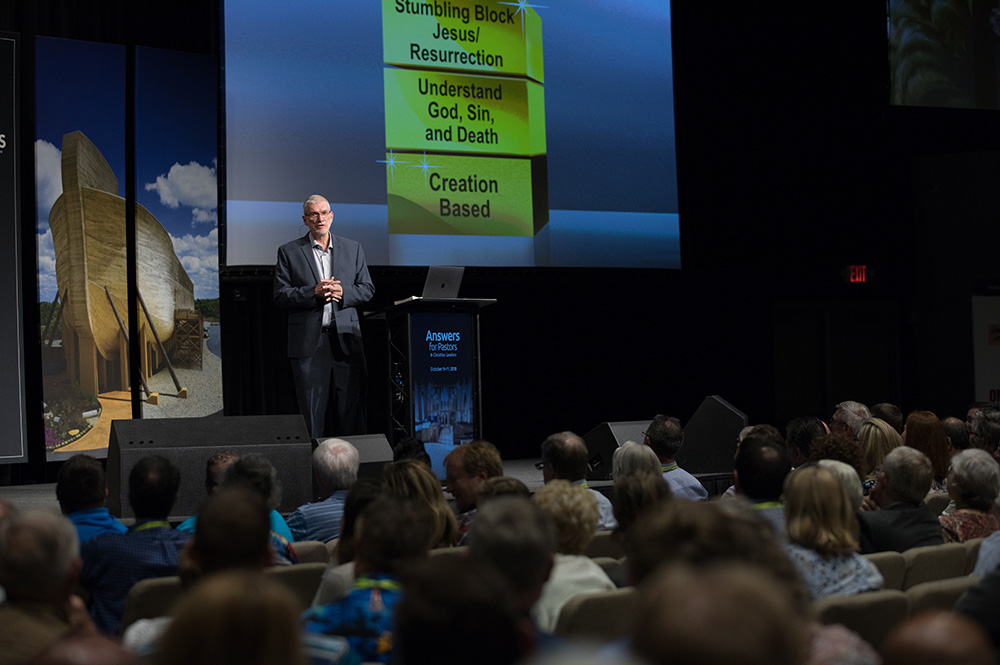 Ken Ham Speaking in Legacy Hall