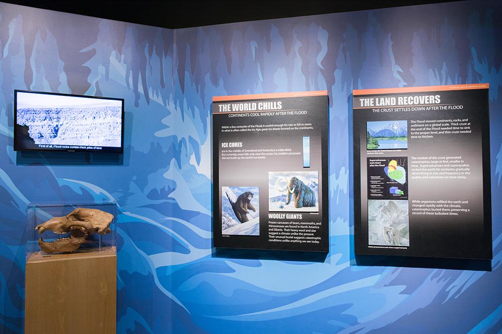 Creation Museum Ic Age Exhibit