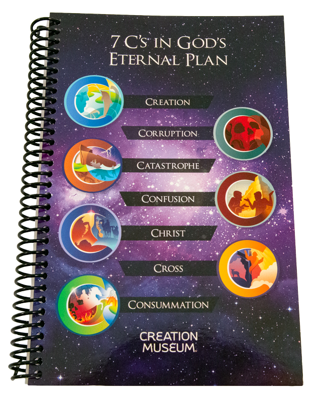 7 C's in God's Eternal Plan Journal