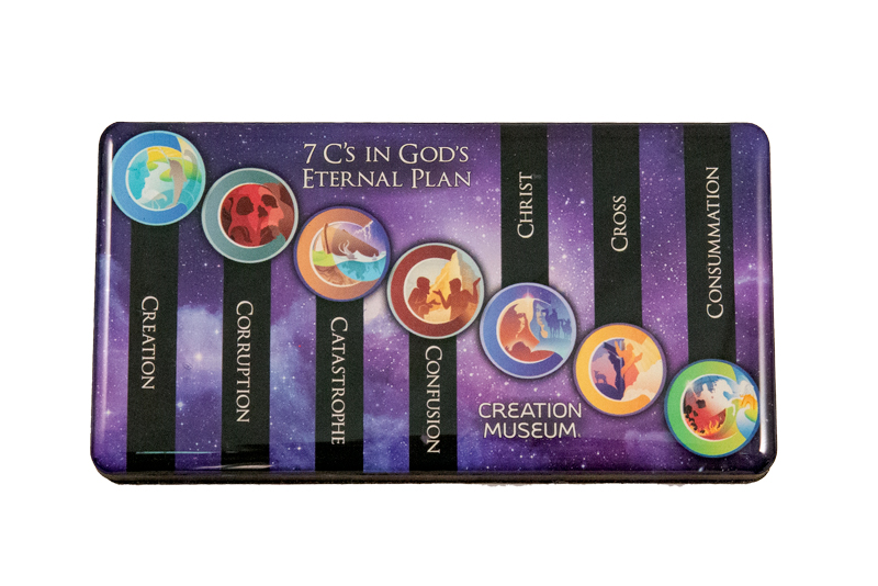 7 C's in God's Eternal Plan Magnet