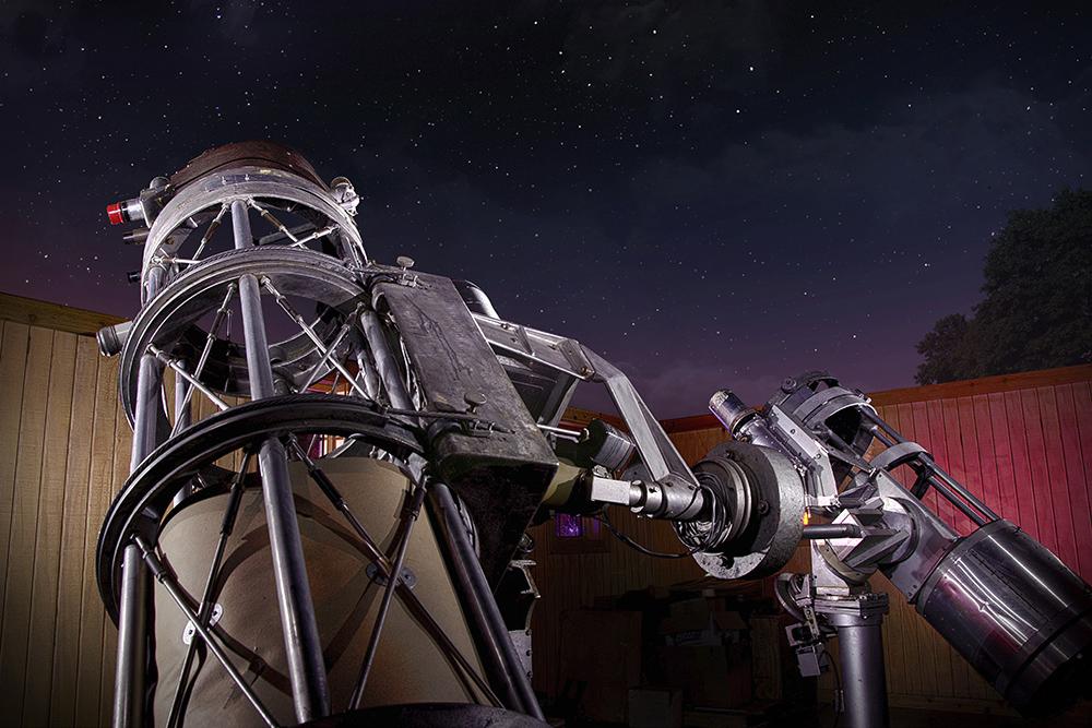 Johnson Observatory Telescopes